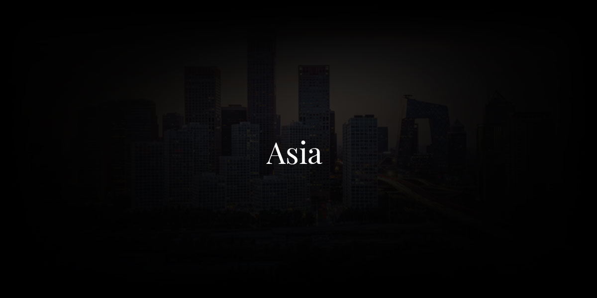Asia: Agencies From Cina to India