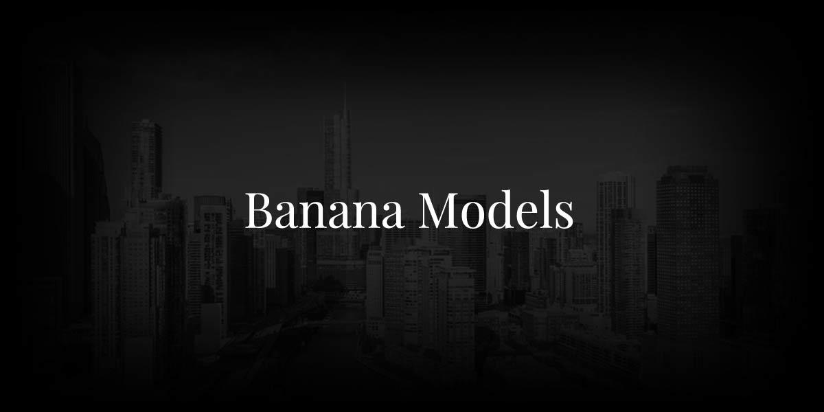 Banana Models: Clients Like Michael Kors, Saint Laurent & Ralph Lauren