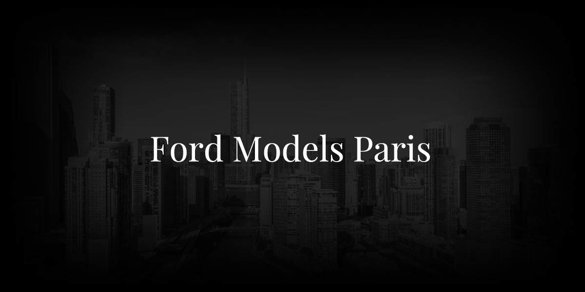 Ford Models Paris: Be The Cover Face Of Dazed & Confused
