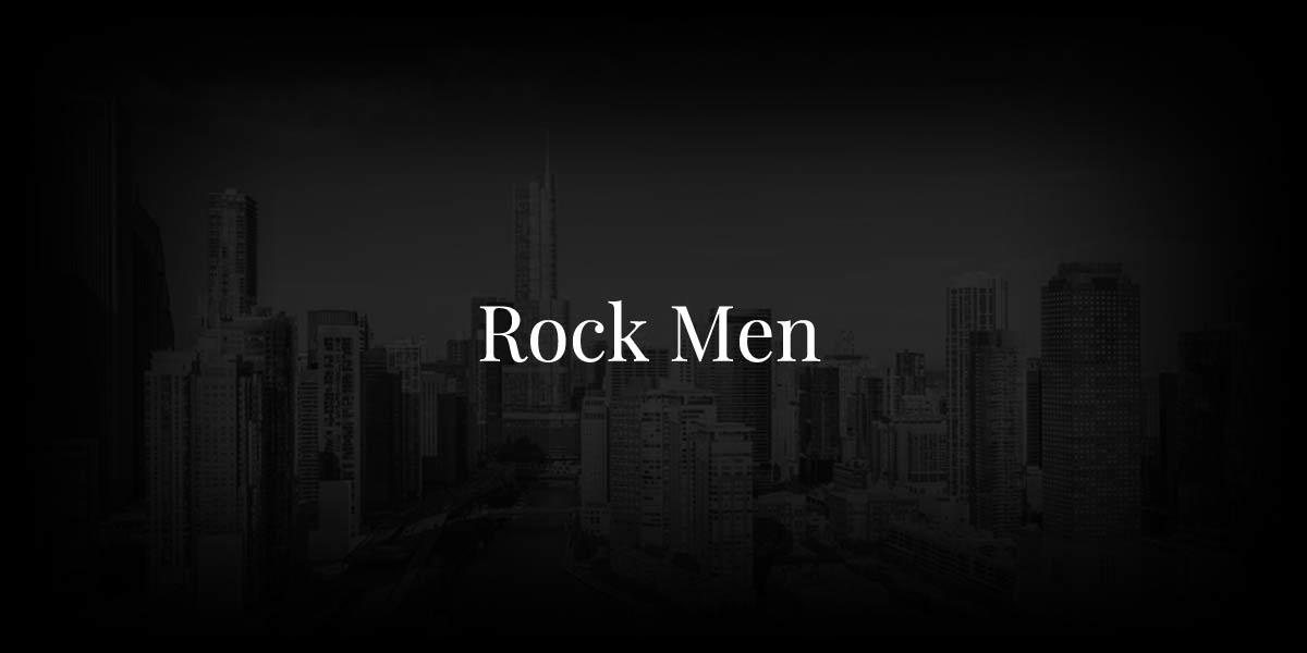 Rock Men: Male Models At Their Best