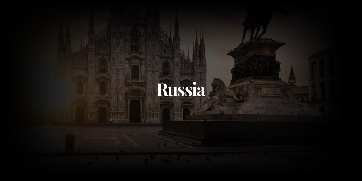 Russia: Modeling From Moscow to Saint-Peterburg