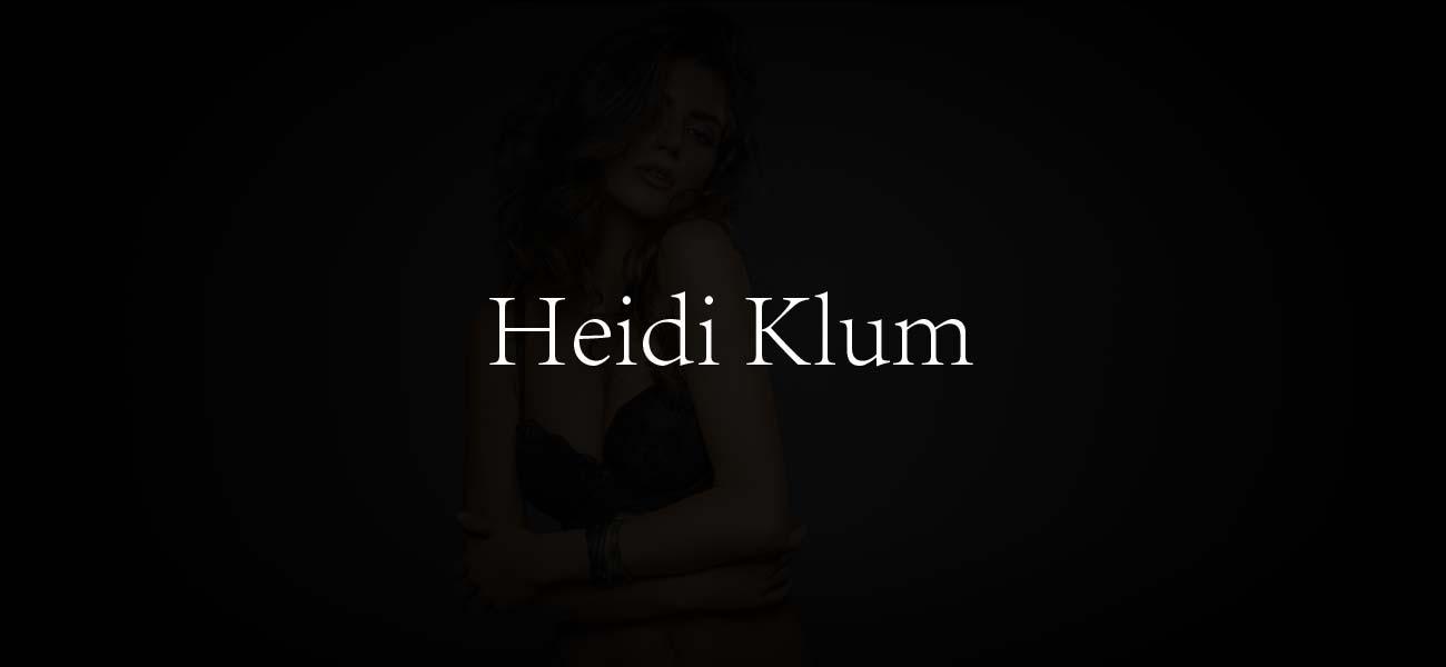 Heidi Klum Top Model