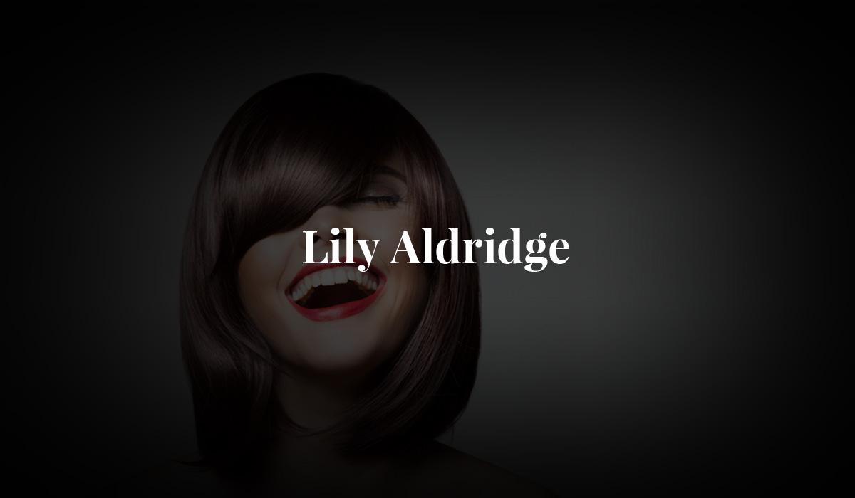 Lily Aldridge Top Model