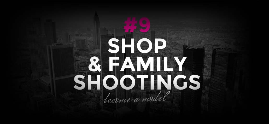 Modeling Jobs: Online shops and family shootings | Become a model #9
