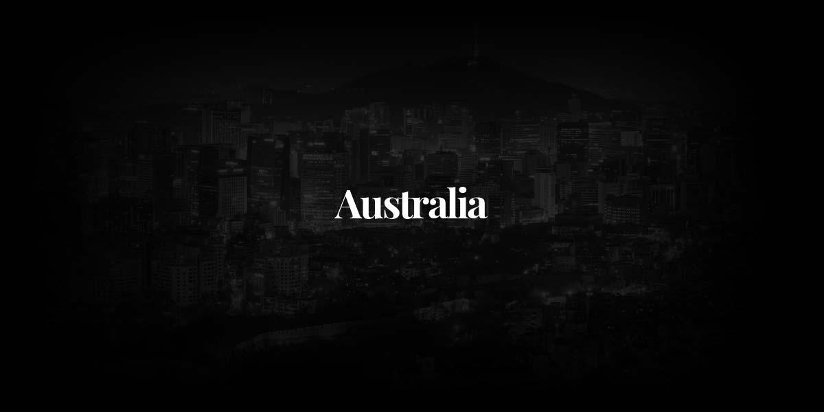 Australia: the most amazing fashion photographers