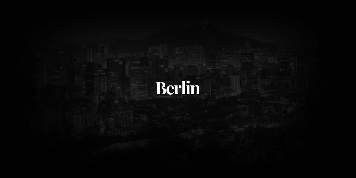 Fashion Photographer Berlin - From Christian Schuller to other Berlin Giants