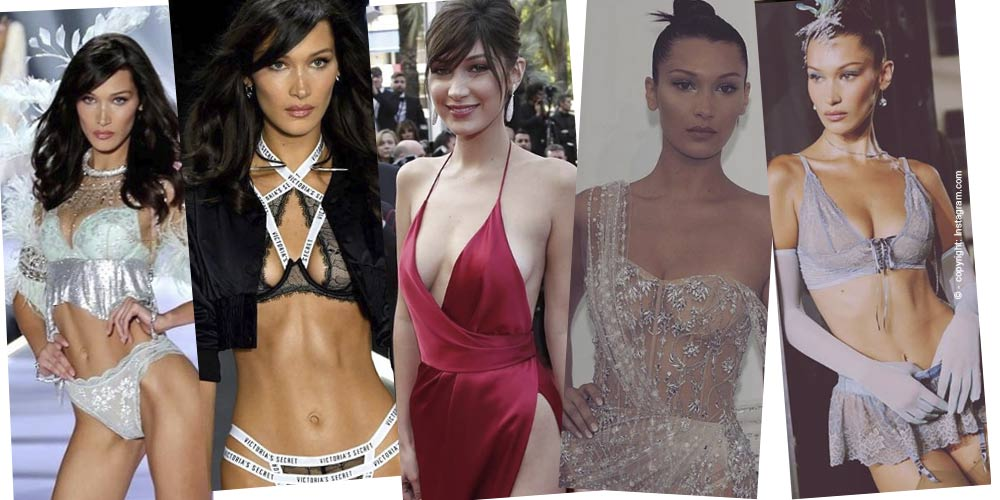 Bella Hadid: The little sister of Gigi Hadid