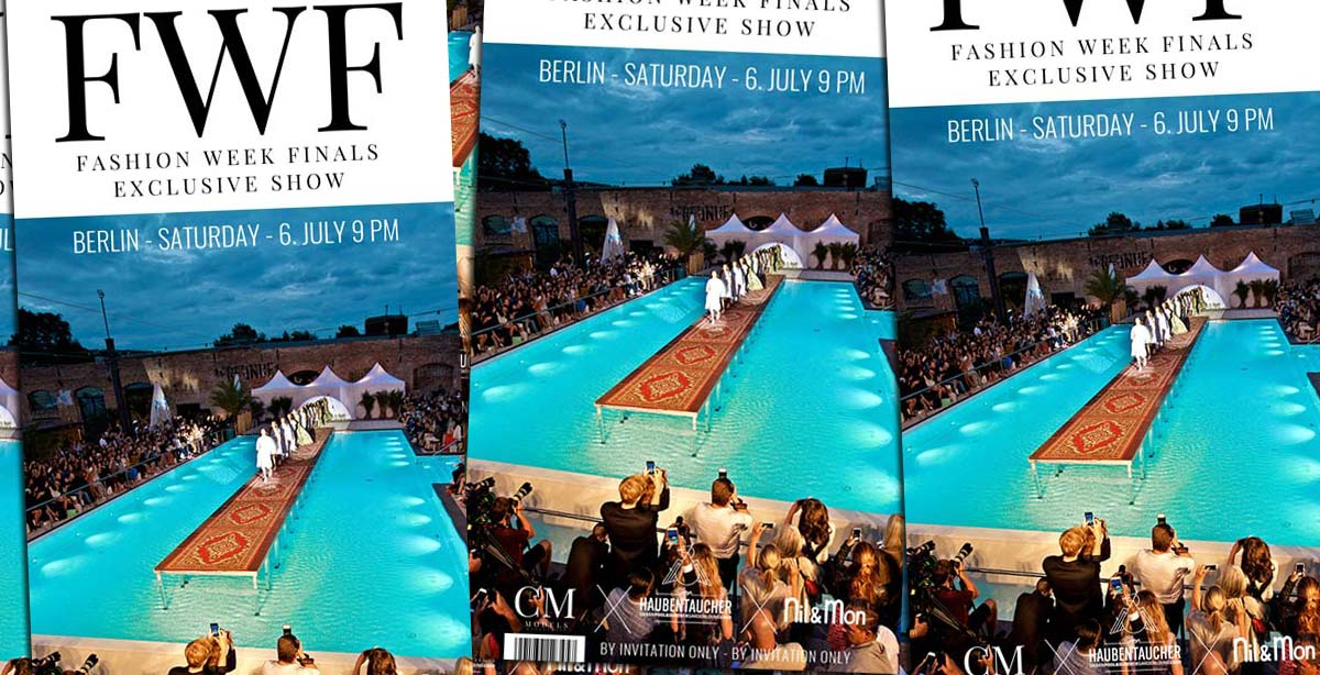 FWF - Fashion Week Finals: Show + FIV Magazine Aftershow Party 6th July